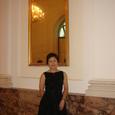 ウィーン ホーフブルク宮殿で開演を待つ
