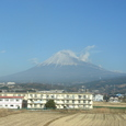 1_のぞみから富士山を望む
